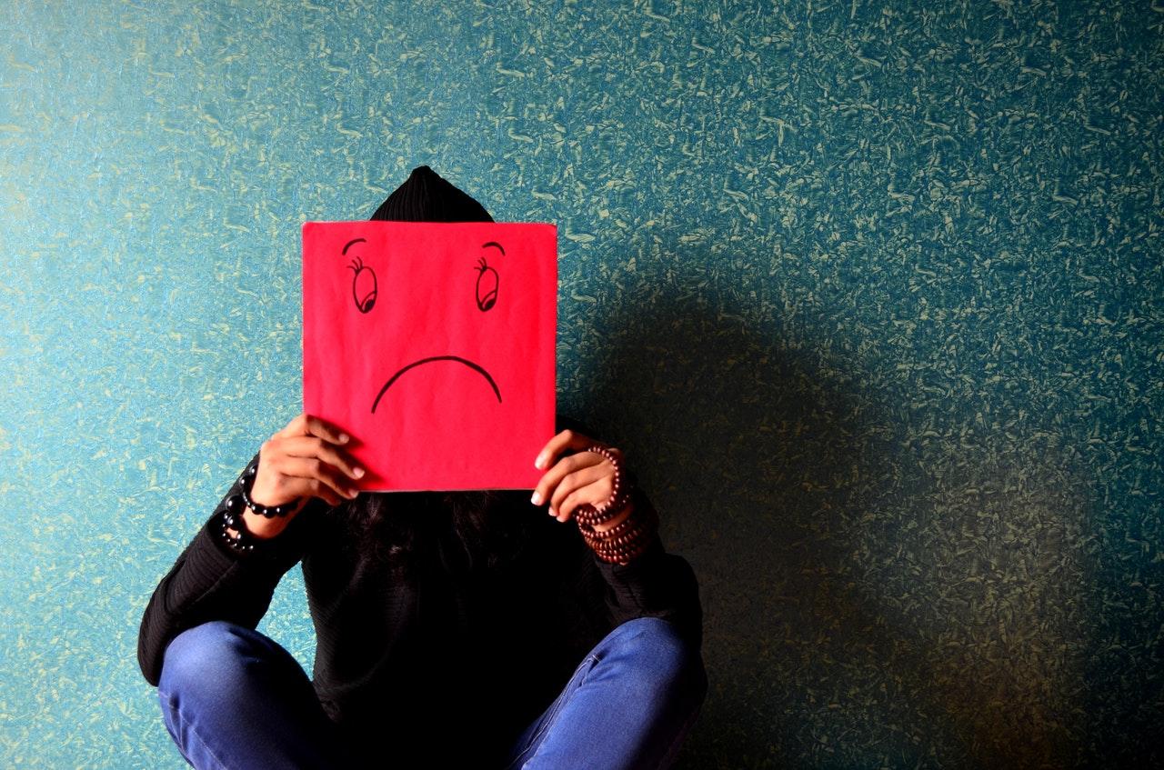 commercial website misconception- sad face