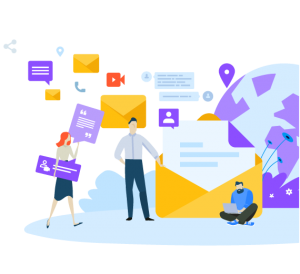 serviço de marketing por e-mail