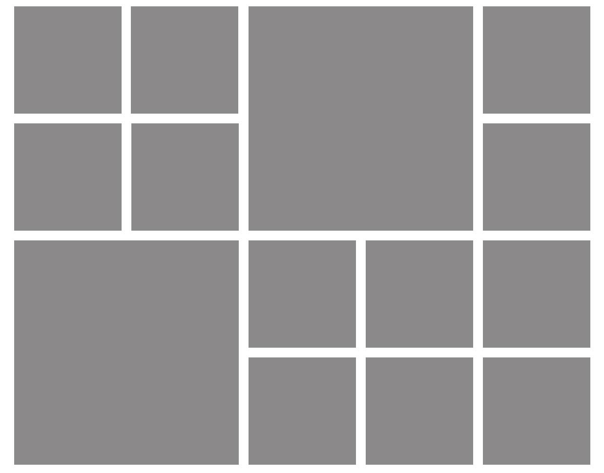 asymmetric grid