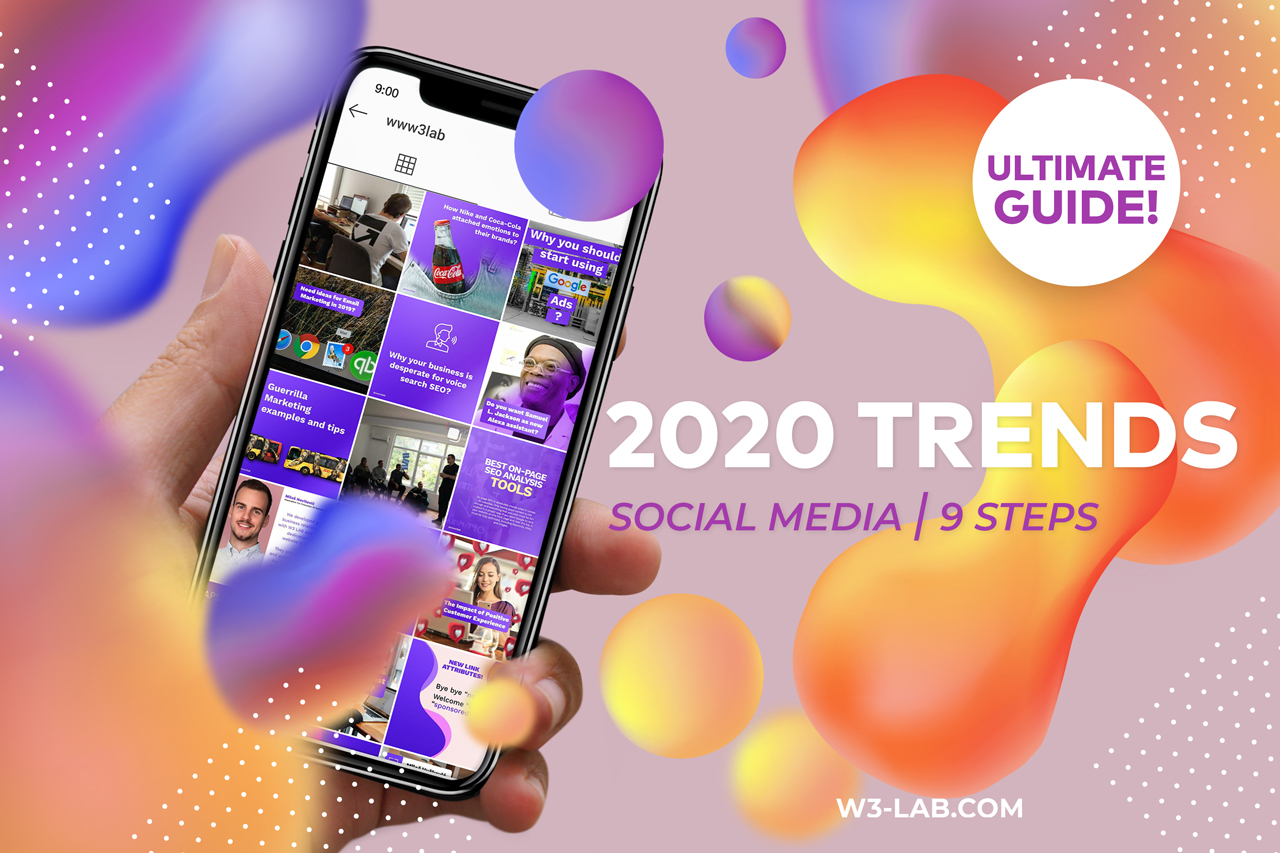 Which Social Media Trends Will Appear In 2020 W3 Lab