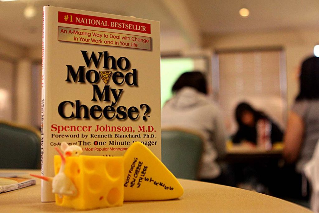 who moved my cheese book for entrepreneurship