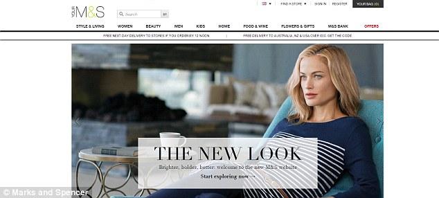 mark and spencer website