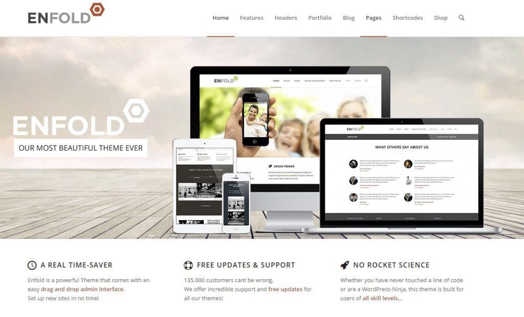 enfold multi-purpose theme