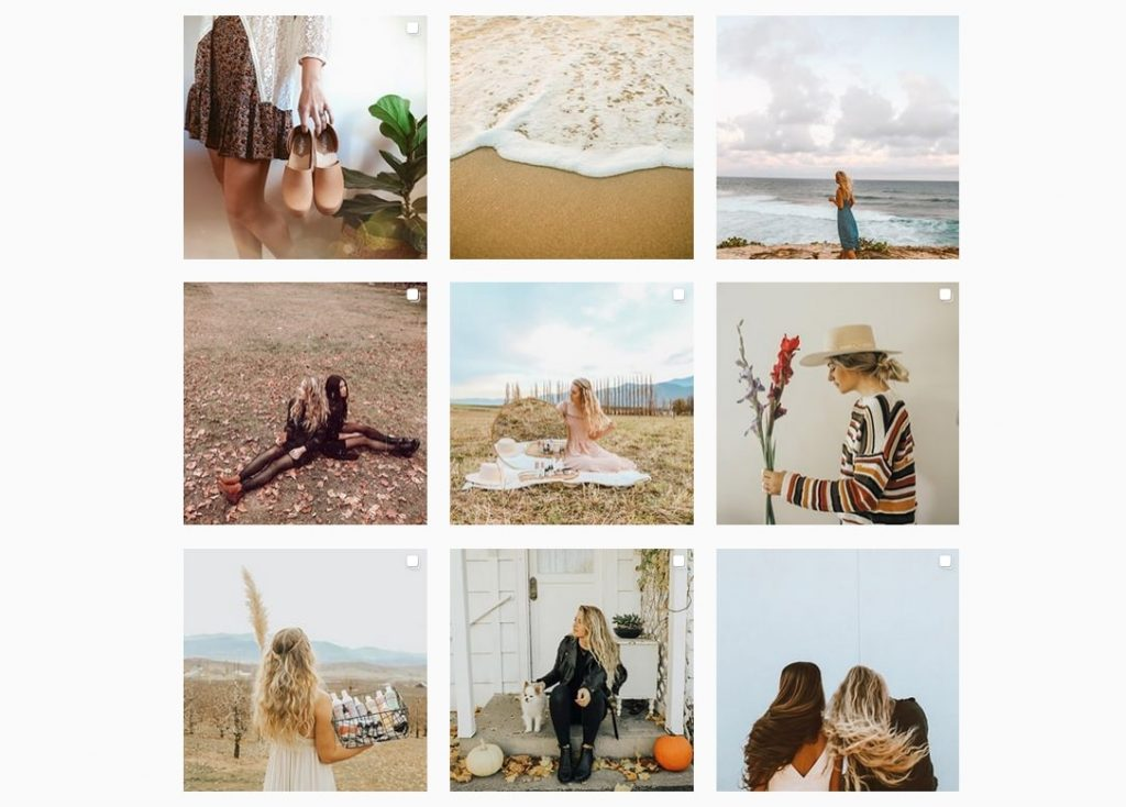 great example of instagram profile