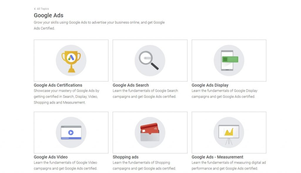 google ads skillshop