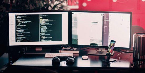 web development in process