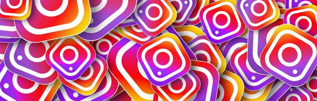 instagram - many instagram logos