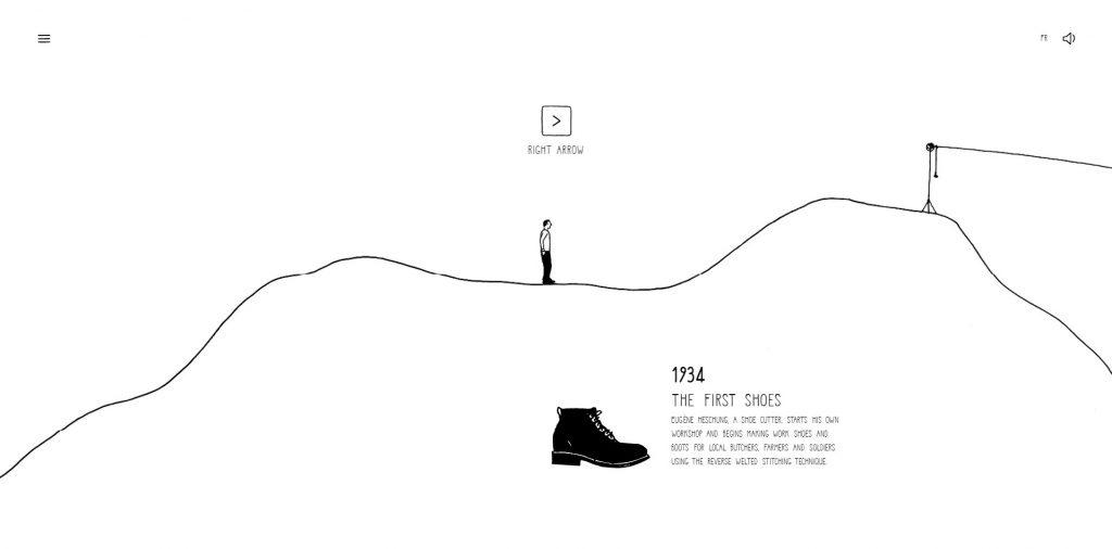 first chapter - website design