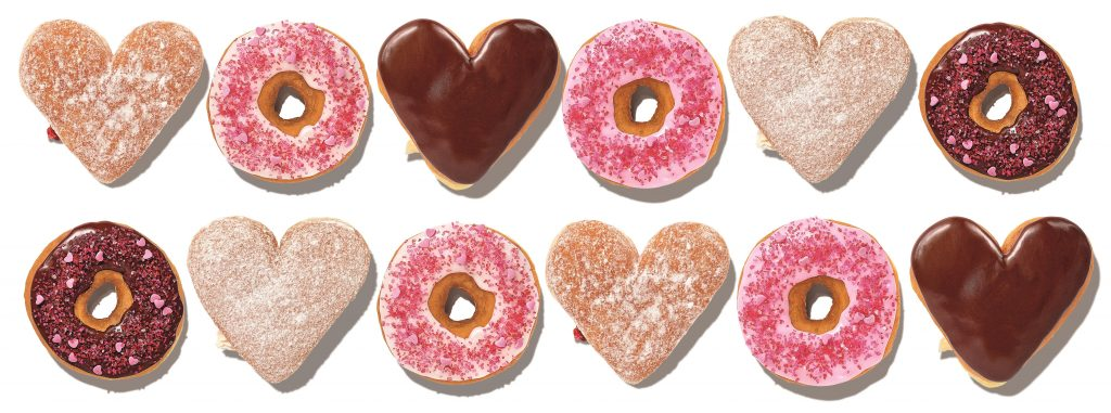 valentines day donuts marketing campaign