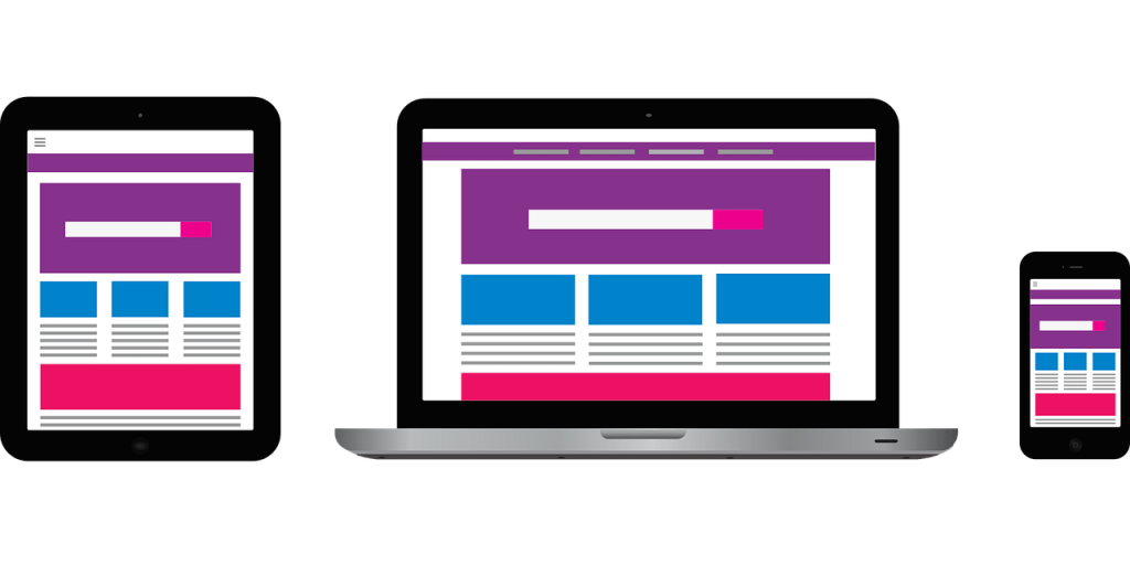 easy to navigate website for content marketing