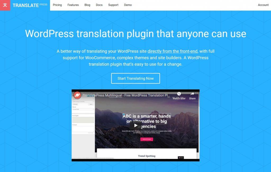 multilingual website wordpress plugin