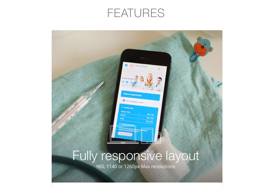 responsive design - website template - responsive website design