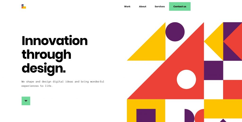 an example of a great landing page