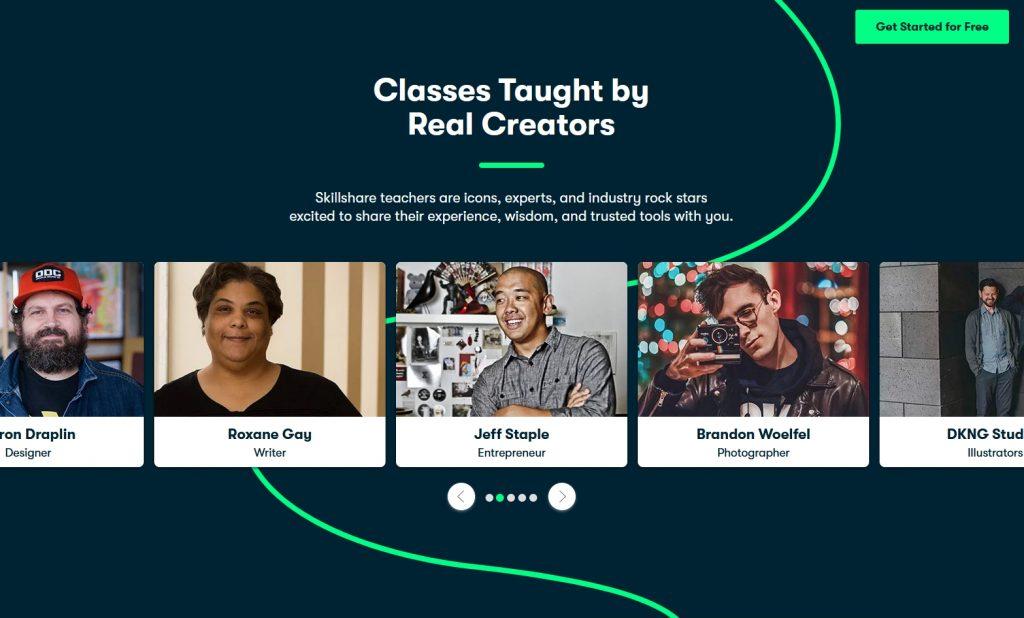 SkillShare's creators
