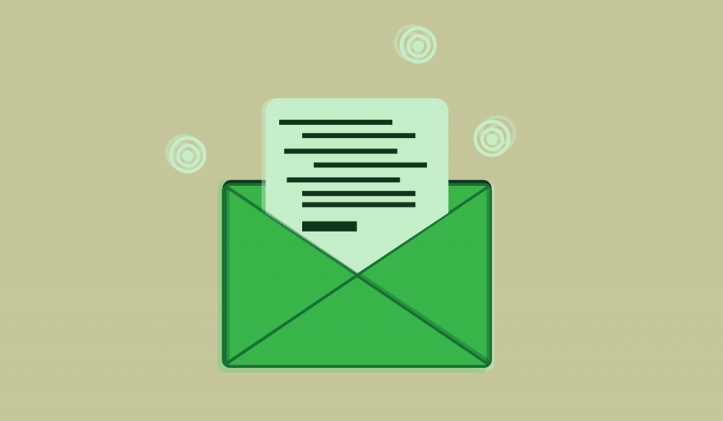 text in emails
