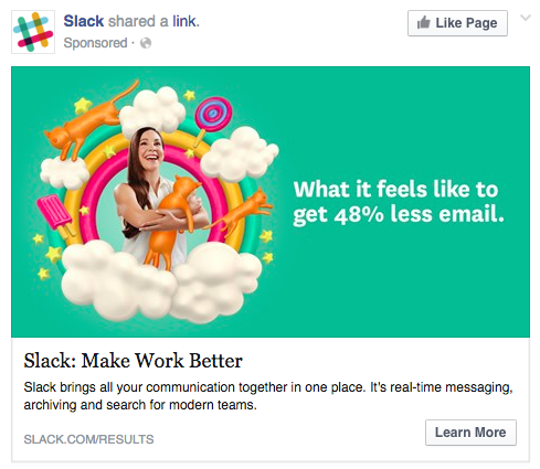 petfect facebook ad example