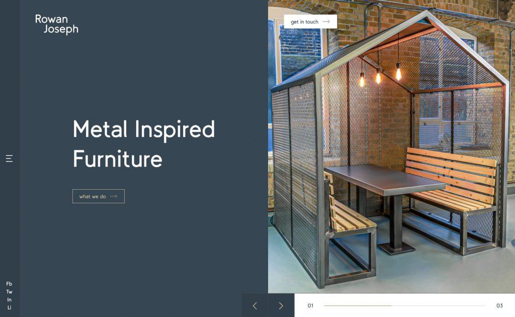 website homepage example