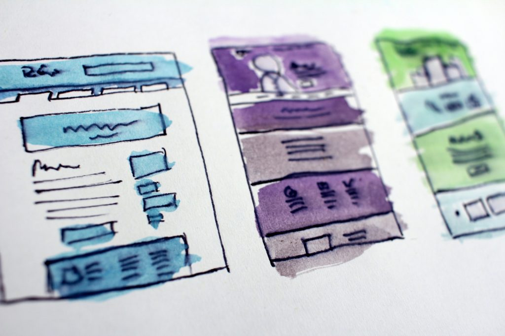 ux design - wireframing - wireframes