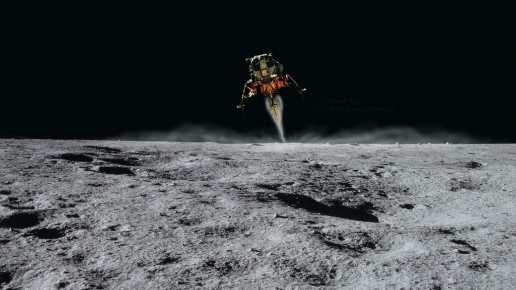 moon landing - apollo 11 - nasa - landing
