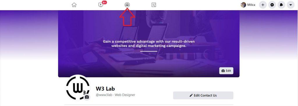 facebook feed - facebook 2020 - facebook group icon - facebook new design - w3 lab