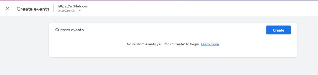 custom events - create events in google analytics 4